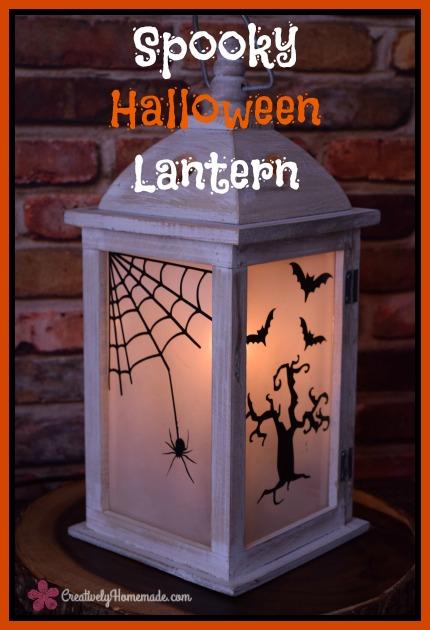 Spooky Halloween Lantern 430 W x 630 H