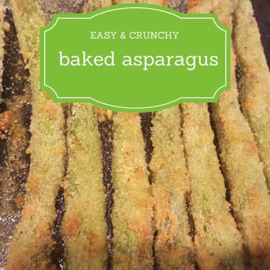 Easy Crunchy Baked Asparagus recipe